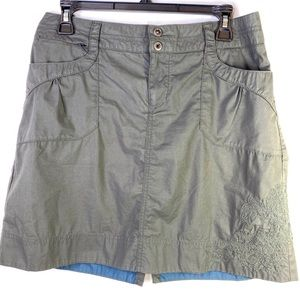 REI Travel Hiking Cargo Grey Embroidery pockets